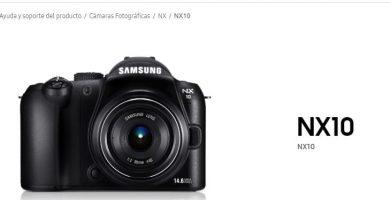 Manuel d'utilisation du Samsung NX10 PDF français