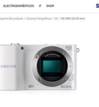 Manuel d'utilisation du Samsung NX1000 PDF