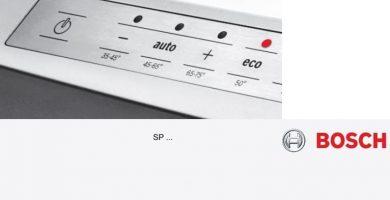 Lave-vaisselle manuel Bosch Silence Plus SPV40E10EU PDF