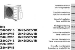 Manuel de l'utilisateur Climatisation Daikin 2AMX50G3V1B En PDF.