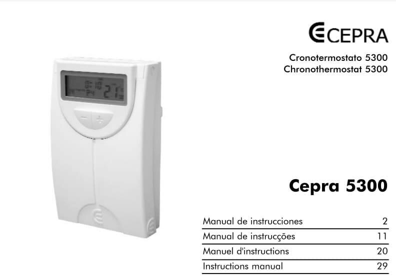 Thermostat Cepra 5300